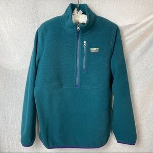 LL Bean Turquoise pullover